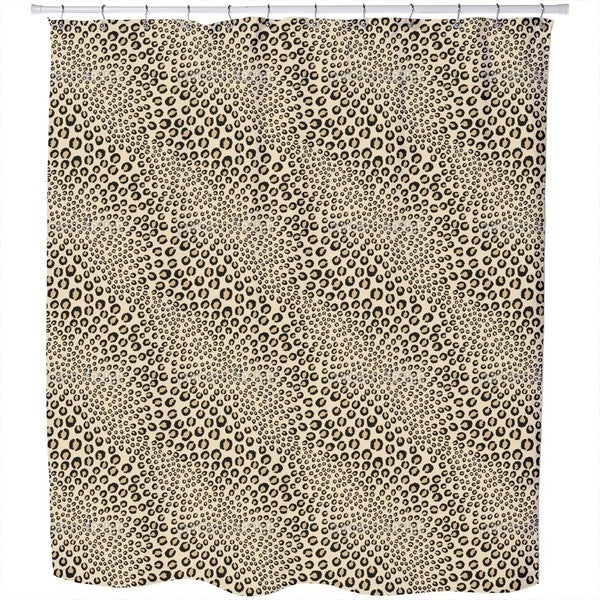 Leopards Want To Be Kissed Shower Curtain