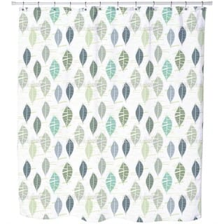 Leaves in Pastel Shower Curtain|https://ak1.ostkcdn.com/images/products/11616636/P18552808.jpg?impolicy=medium