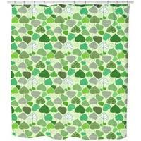 Leaf World Shower Curtain