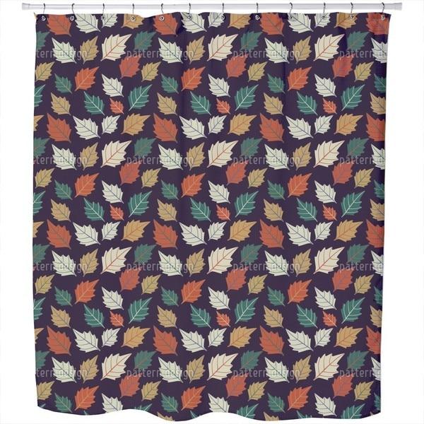 Leaf Bohemian Shower Curtain