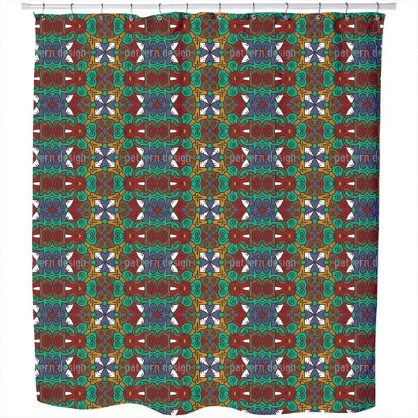 Leader of The Tribe Shower Curtain