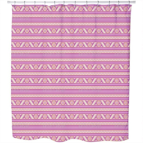 Latvian Summer Shower Curtain