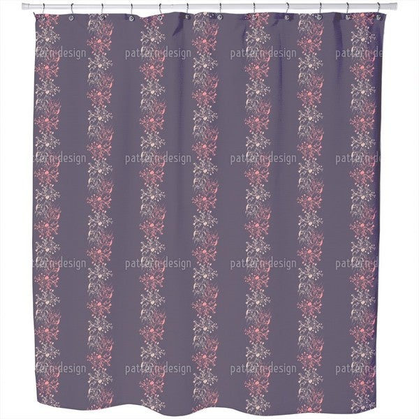 Late Bloomers Shower Curtain