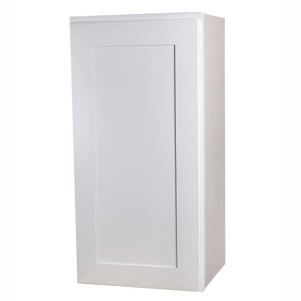 Shaker Style White Kitchen Wall Cabinet