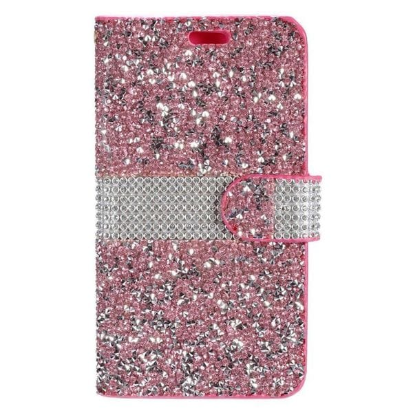 official photos de7f9 c9c59 Shop Insten Leather Rhinestone Bling Case Cover For Samsung Galaxy ...