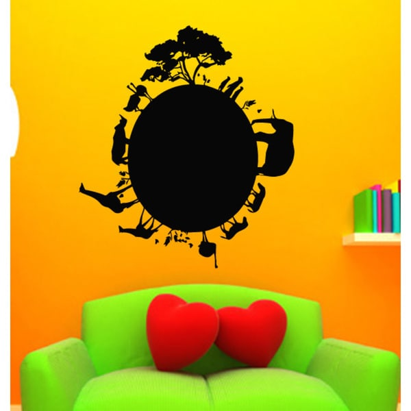 Animal Planet Earth Africa Wall Art Sticker Decal - Free Shipping On ...