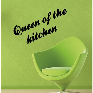 Inscription Queen Of The Kitchen Wall Art Sticker Decal