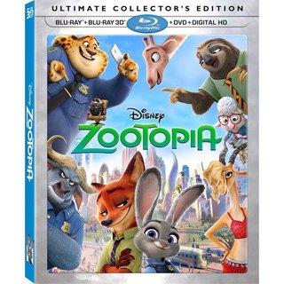 Zootopia 3D (Blu-ray Disc)