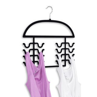 Home Basics Tank Top and Bathing Suit Hanger Organizers (2-Pack)