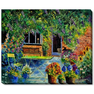 Pol Ledent 'Courtyard 79' Fine Art Print
