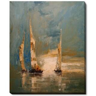 Justyna Kopania 'Boats' Fine Art Print