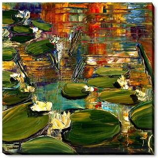 Justyna Kopania 'Water Lilies' Fine Art Print