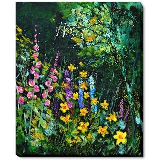 Pol Ledent 'Garden Flowers' Fine Art Print