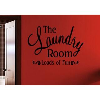 Beautiful inscription Laundry Room Wall Art Sticker Decal