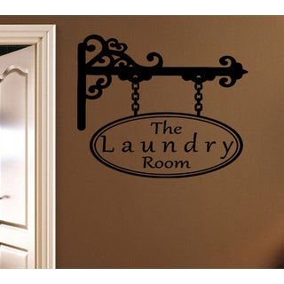 Welcome Laundry Room Wall Art Sticker Decal