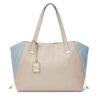 Lauren Ralph Lauren Guilford Leather Tote Bag