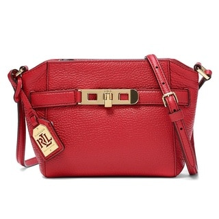 Lauren Ralph Lauren Darwin Leather Crossbody Handbag