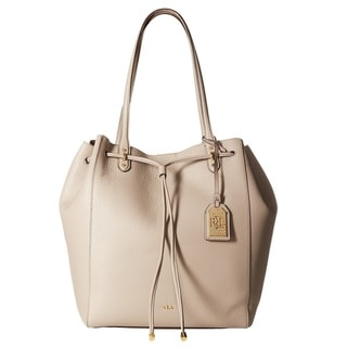 Lauren Ralph Lauren Oxford Leather Tote Bag