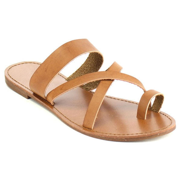 Shop Fashion Focus Women S Strappy Flat Sandals Free