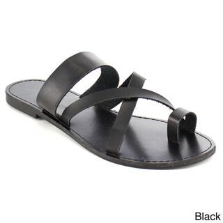 Fashion Focus Women's Strappy Flat Sandals