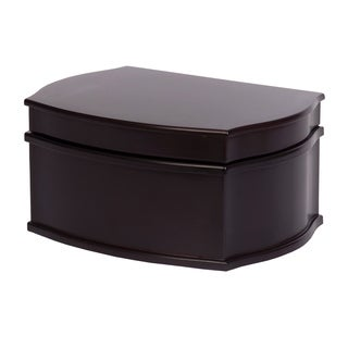 Mele & Co. 'Jacquelyn' Java Wood Jewelry Box