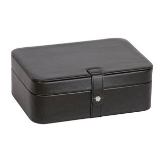 Mele & Co. 'Lila' Black Faux Leather Forty-Eight Section Jewelry Box