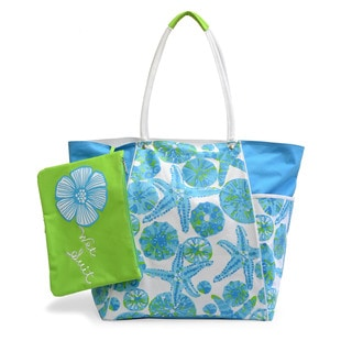 Tropical Reef Jumbo Beach Tote With Wet Pouch