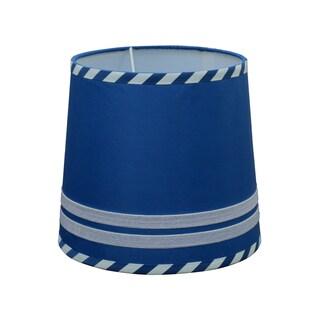 Lamp Shade in Navy Stripe