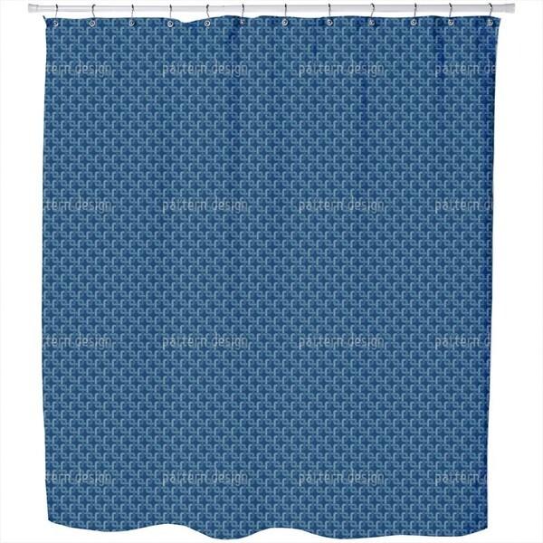 Chain Shower Curtain