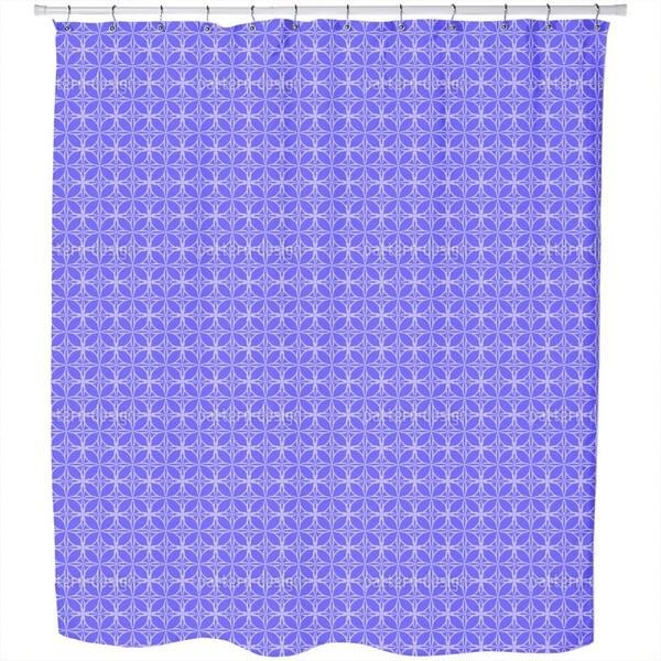 Celestial Latitude Shower Curtain