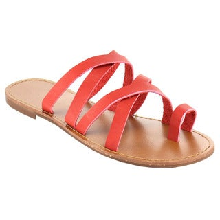 Fashion Focus Women's Toe Strap Sandal