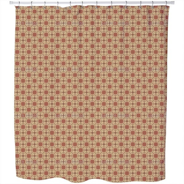 Cafe Amelie Shower Curtain