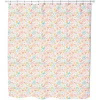Butterflies and Flowers Awakening Shower Curtain