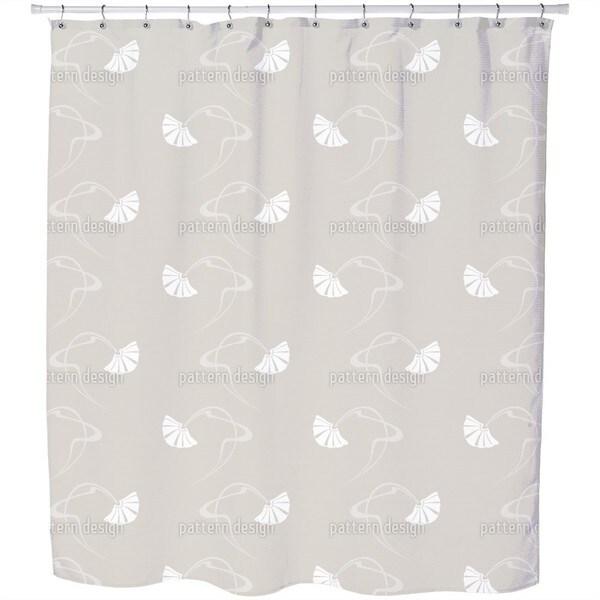 Burlesque Beige Shower Curtain