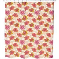 Brisk Flowers Shower Curtain