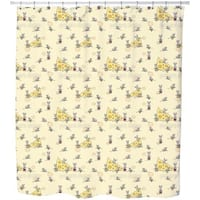 Breakfast At Mini Mouse Shower Curtain