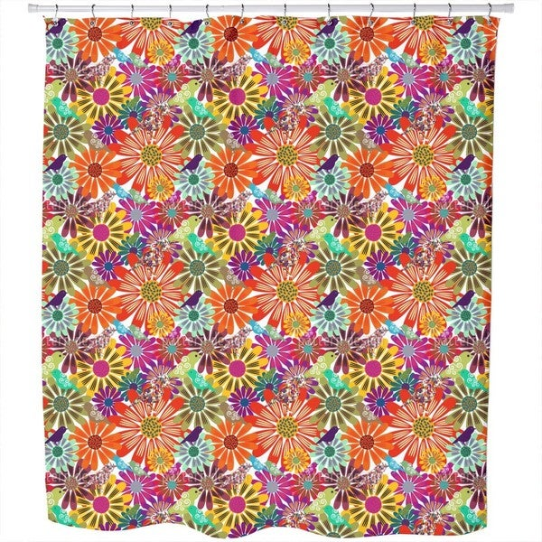 Brazil Floral Shower Curtain