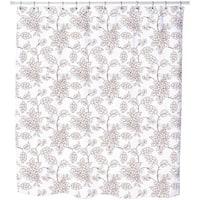 Bouquet Outlines Shower Curtain