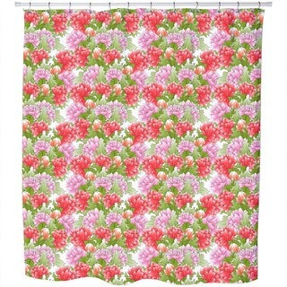 Bouquet of Peonies Shower Curtain