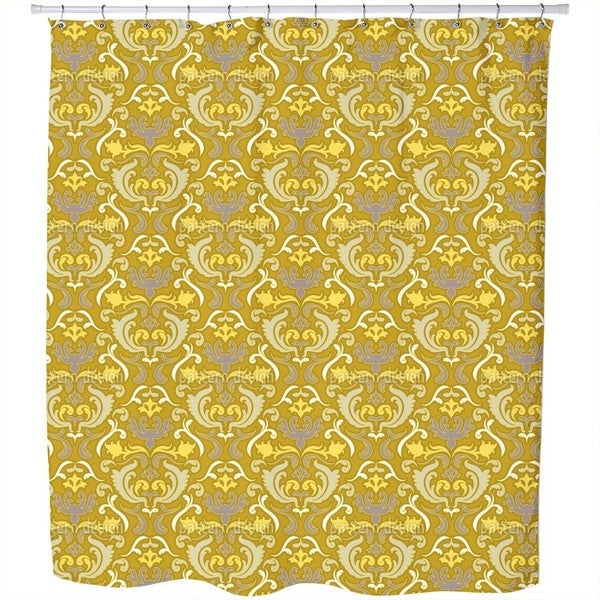 Bon Apart Gold Shower Curtain