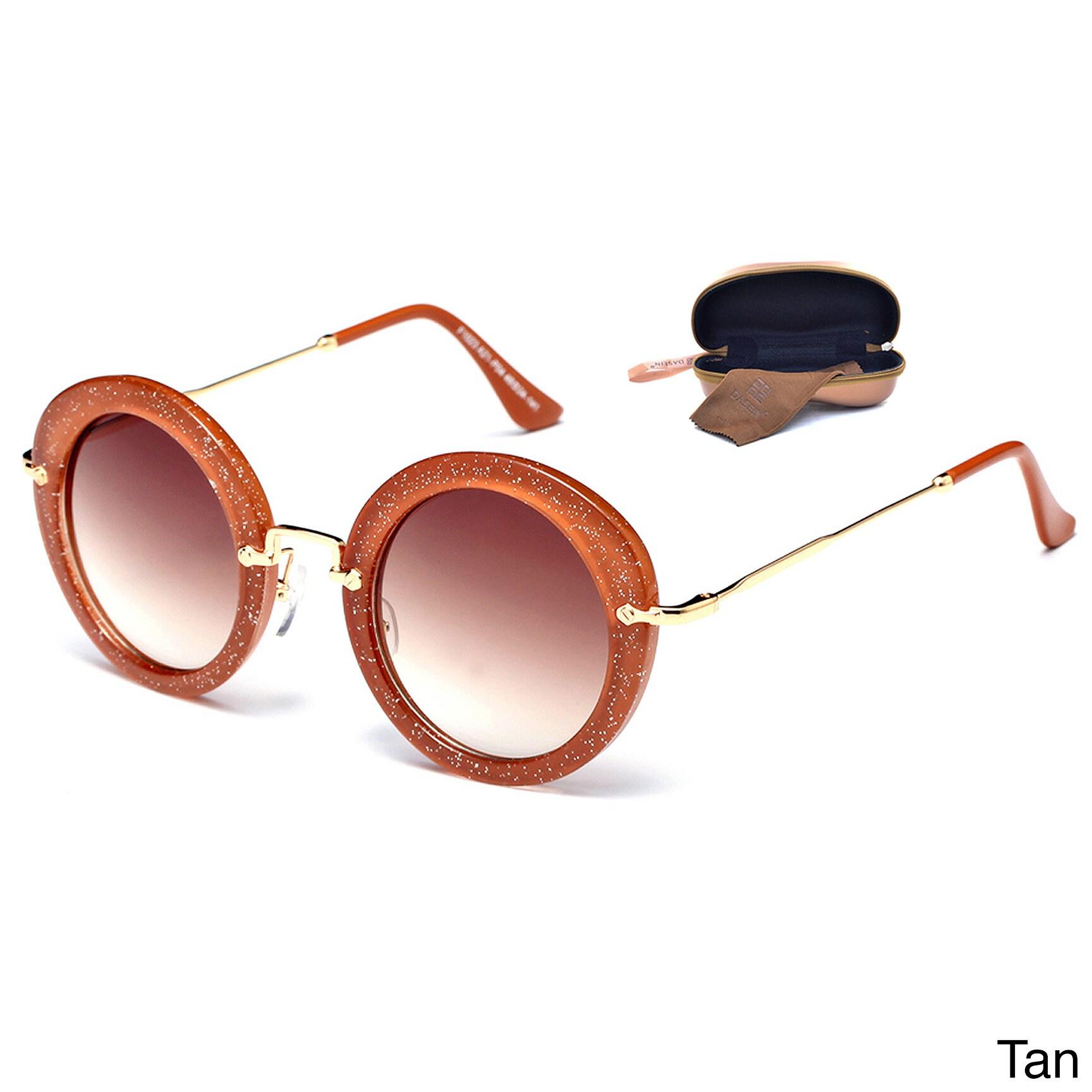 Dasein Premium Polarized Vintage Round Sunglasses with Me...