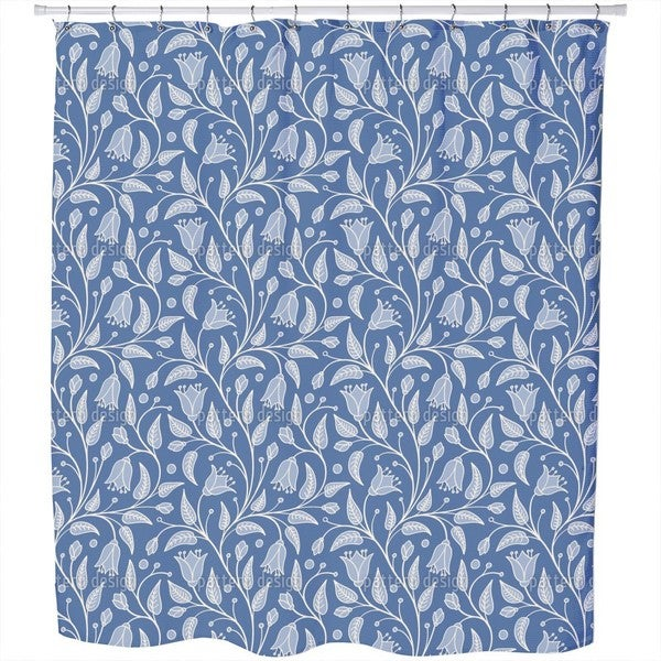 Bluebells Fantasy Shower Curtain