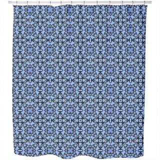 Blue Orient Shower Curtain