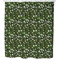 Blossoming Clover Shower Curtain