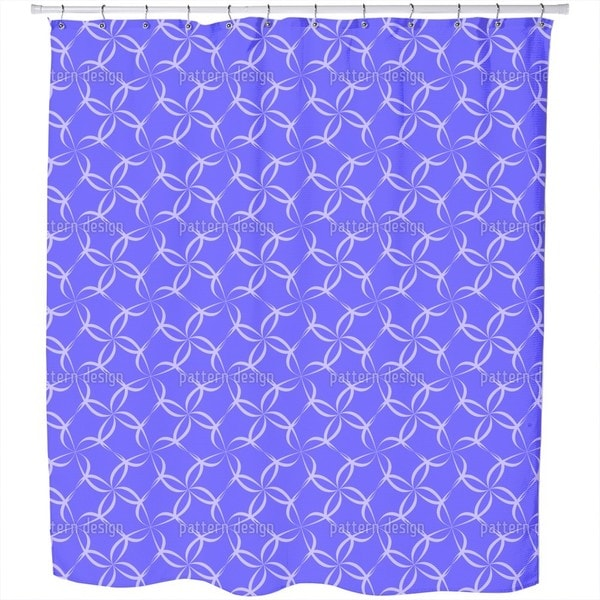 Blossom Fence Shower Curtain