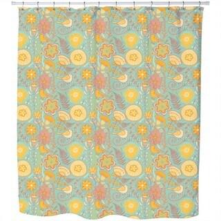 Birds Paradise Shower Curtain