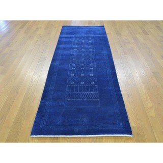 Runner Lori Buft Gabbeh Pure Wool Hand-knotted Rug (2'8 x 8'3)