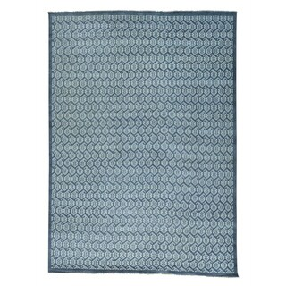 """Grey Turkish Knot Paisley Design Hand-knotted Rug - 10'0"""" x 13'10"""""""