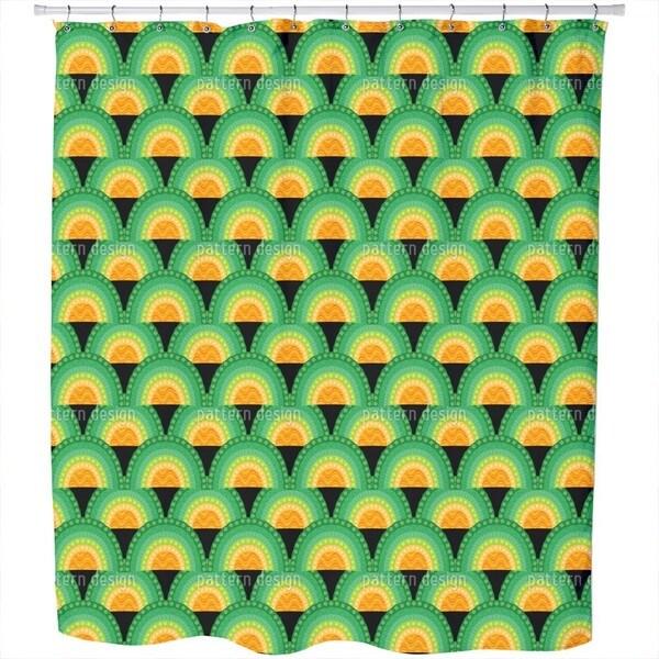 Bingo Bongo Shower Curtain