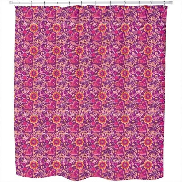 Beloved Bird Paradise Shower Curtain